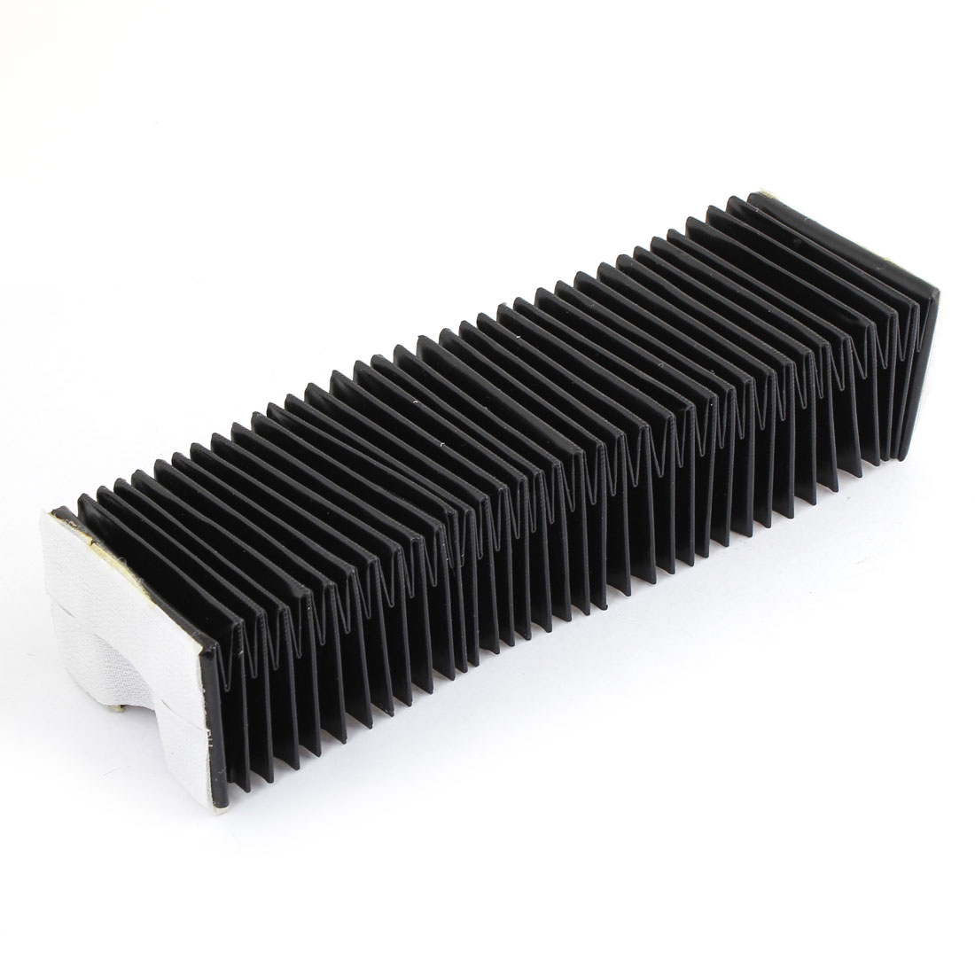 Black Metal Plastic Frame CNC Machinary Parts Dust Cover 100cmx 7cm x 5cm