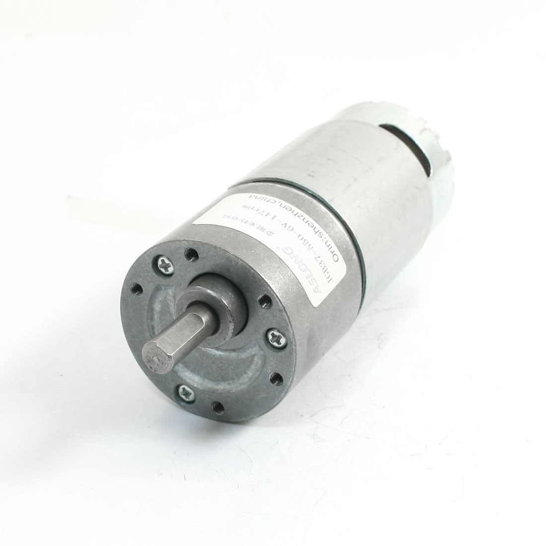 JGB37-550 Permanent Magnetic DC Geared Motor 6V 147RPM 0.8A 10kg.cm