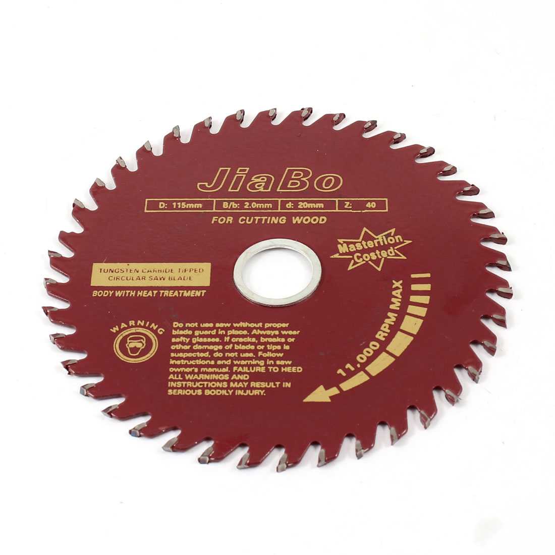 Wood Work 11000RPM Rotary Speed 115mm Dia 40T Cutting Saw Cutter