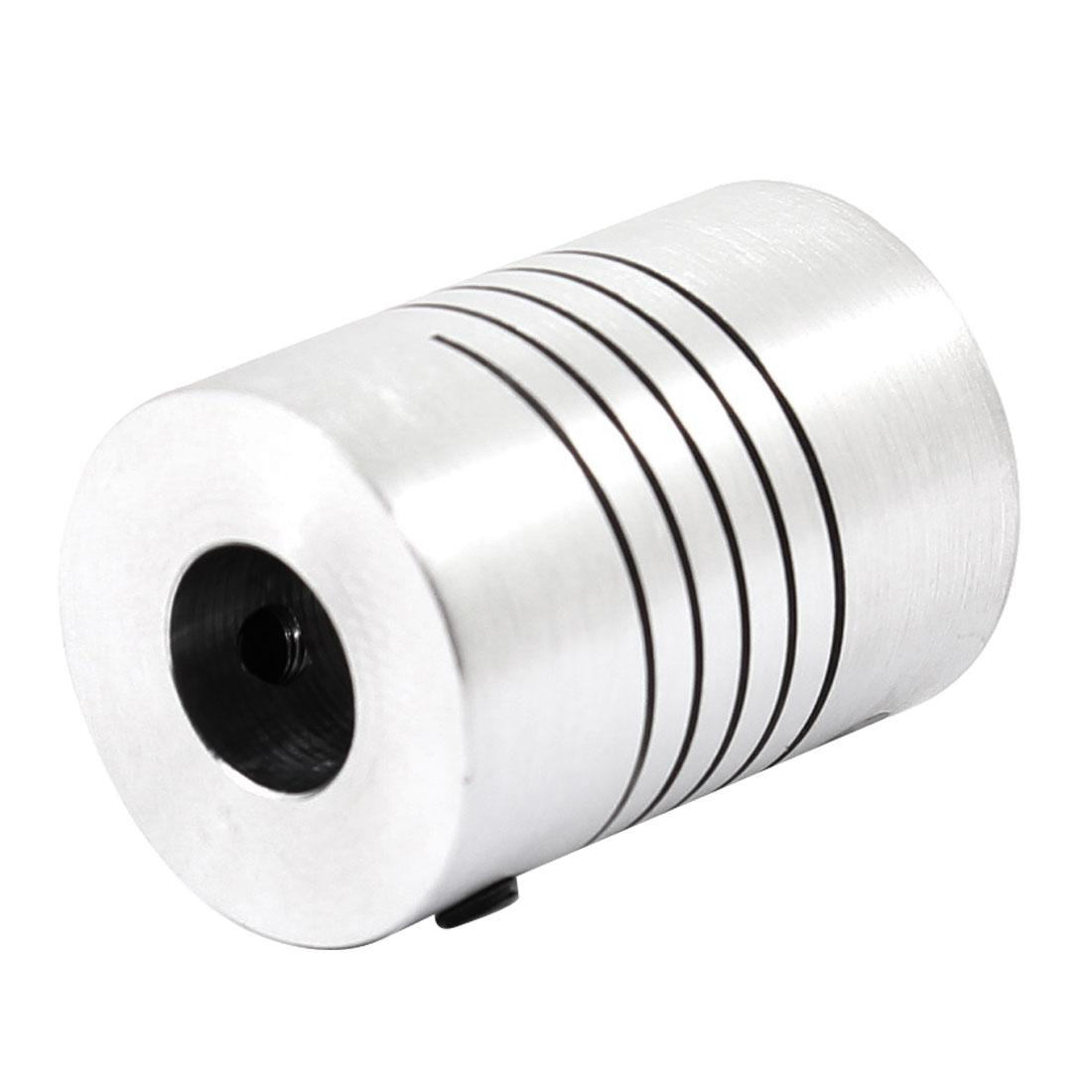 4mmx8mm D18L25 CNC Motor Helical Shaft Coupler Beam Coupling Connect Encoder