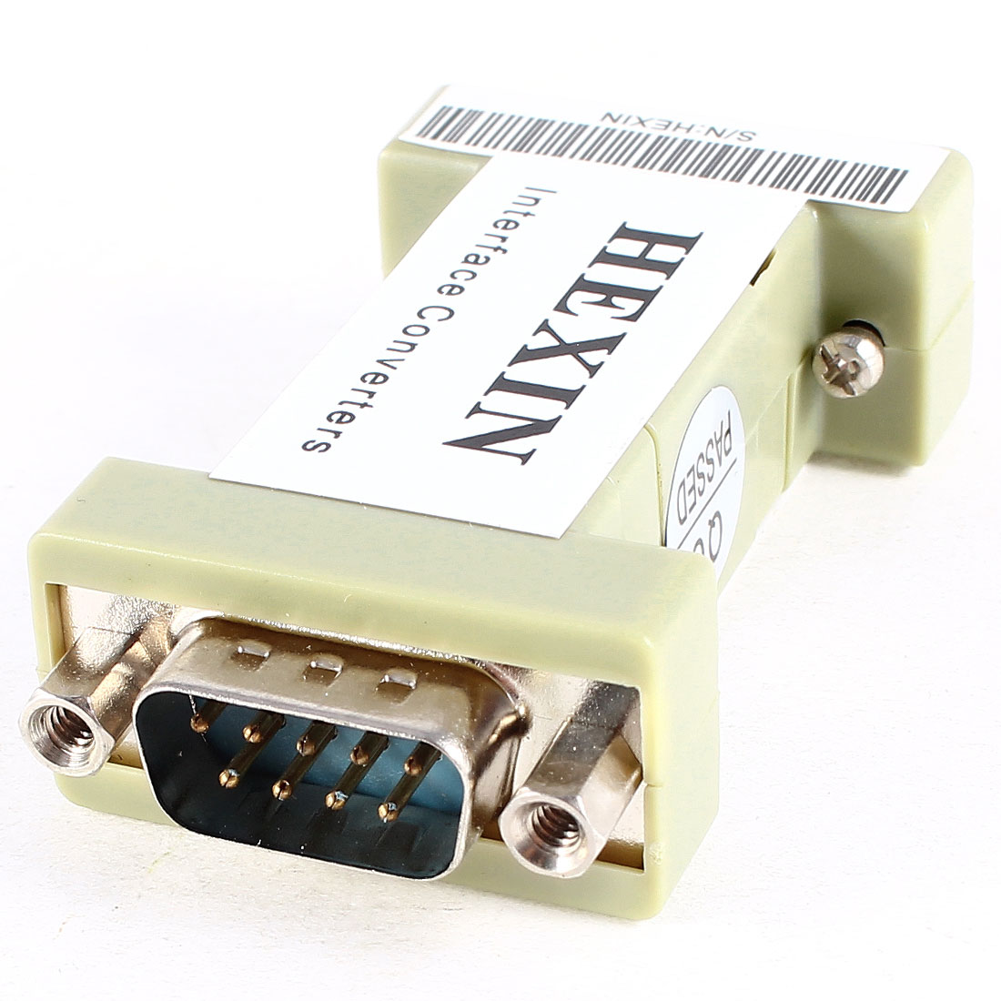 DB9 RS232 Male to Female Surge Protection 3 Wire Data Transmitter Adapter