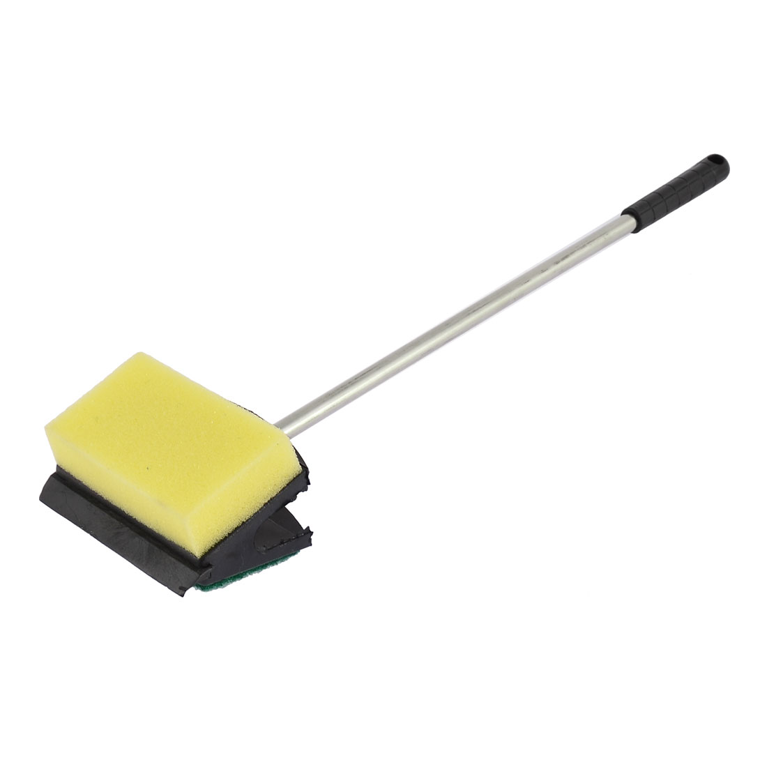 Metal Handle Dual Sides Sponge Cleaning Brush for Aquarium Fish Tank