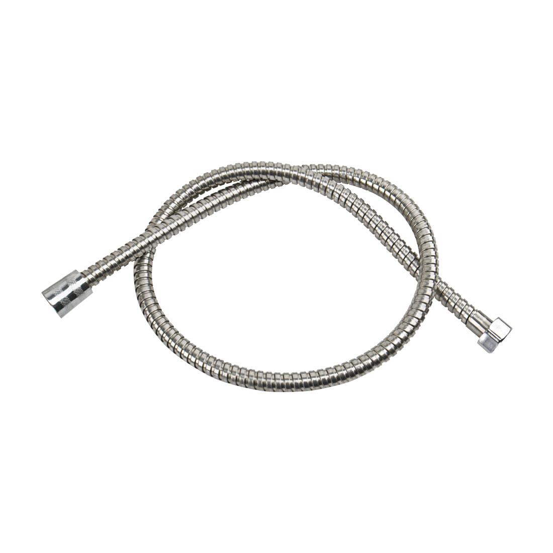 Household Bathroom Metal Spiral Flexible Bathing Shower Hose Pipe 1M