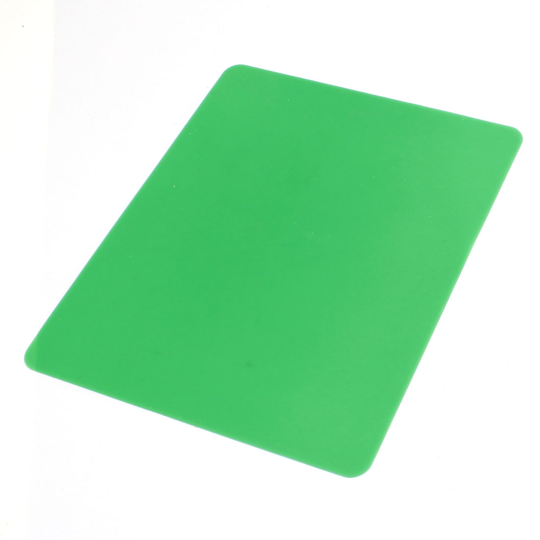 "8.4"" x 7"" Green Silicone Anti-skid Mouse Pad Mat for Notebook Computer"