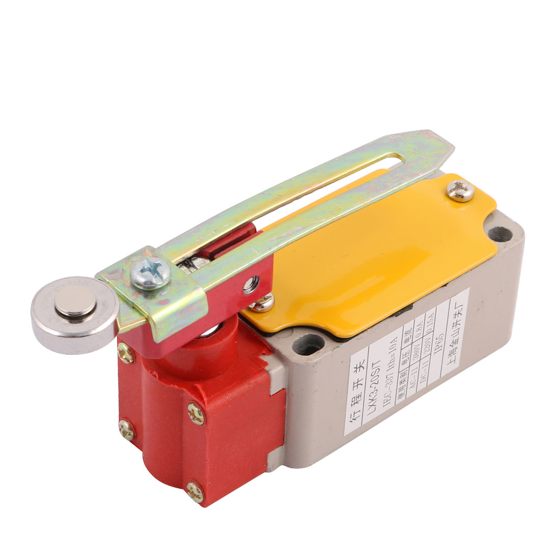 LSK3-20S/T Momentary Enclosed Limit Switch w Adjustable Roller Lever Arm