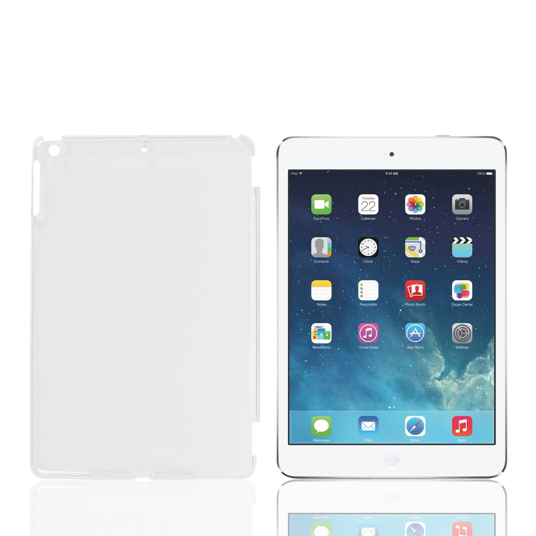 Protective Hard Plastic Clear Back Case Cover for for iPad Air 5 5th