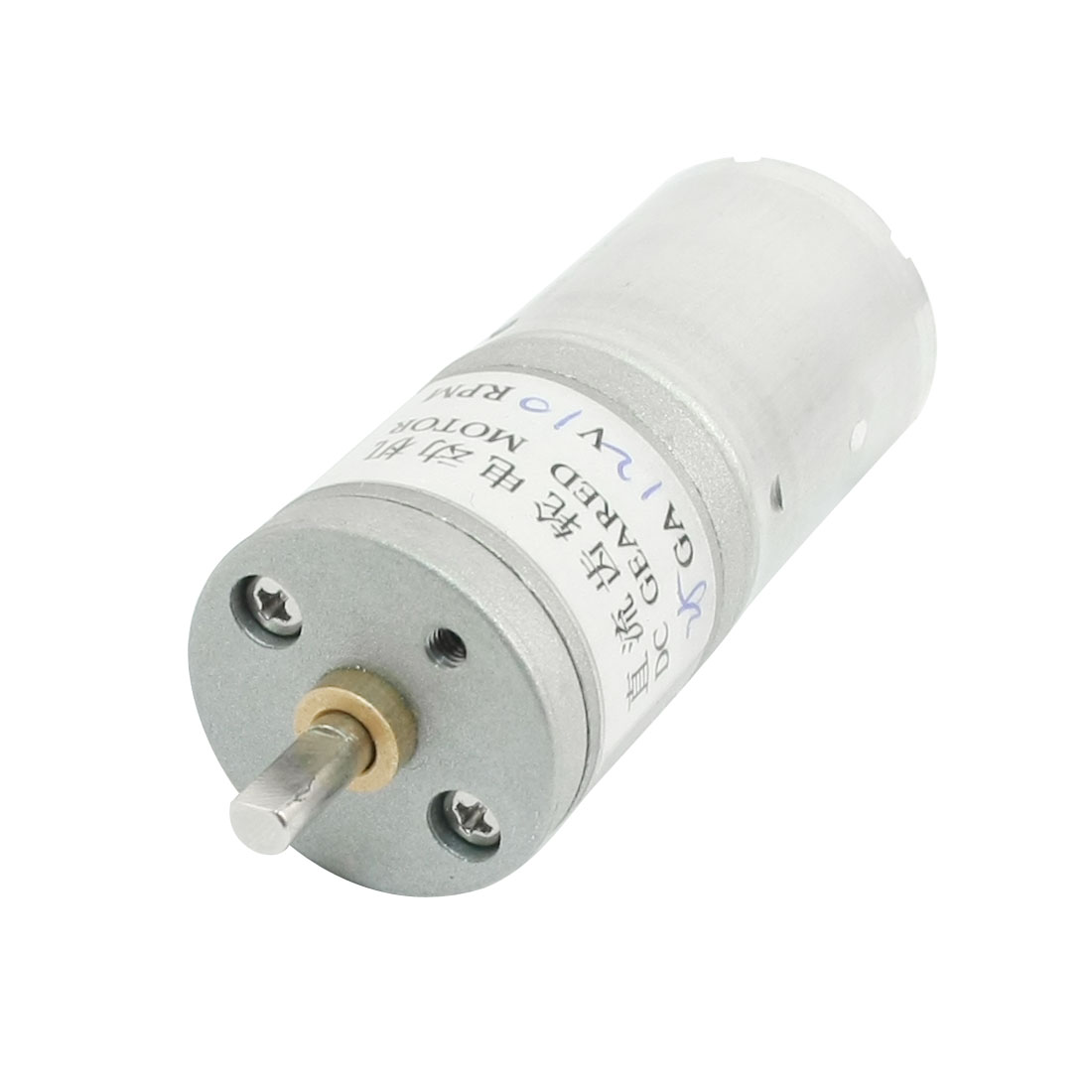 High Torque Speed Reducing Cylinder DC Gear Motor DC12V 10RPM