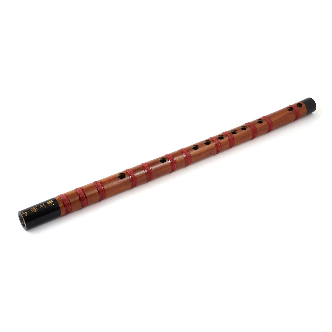 43cm Long Alto G 12 Holes Chinese Bamboo Flute Instrument