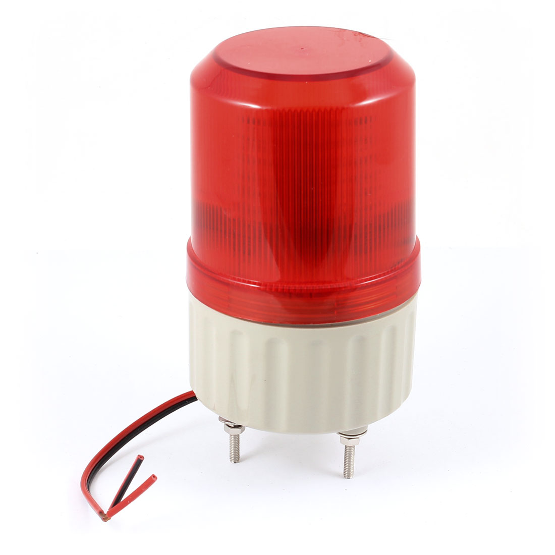 Industrial Signal Tower 30 Leds Red Flashing Rotary Warning Lamp 24VDC