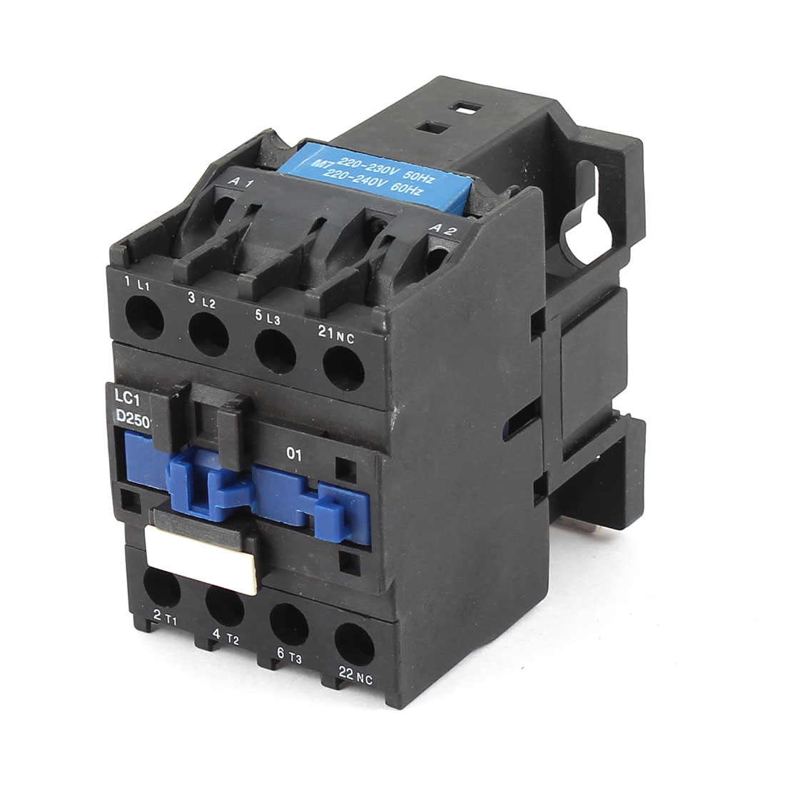 LC1/D2501N Coil Frequency 3 Poles 1NO 1NC Motor Control AC Contactor 690V