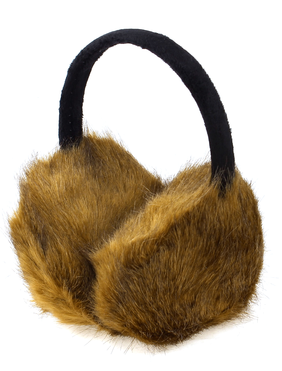 Brown Comfy Warmer Earcap Headband Ear Muffs Earmuffs for Ladies