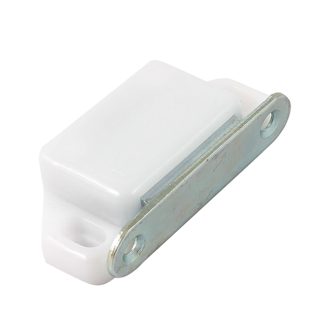 5.8cm Long Home Furniture Cabinet Glass Door Magnetic Catch Latch White