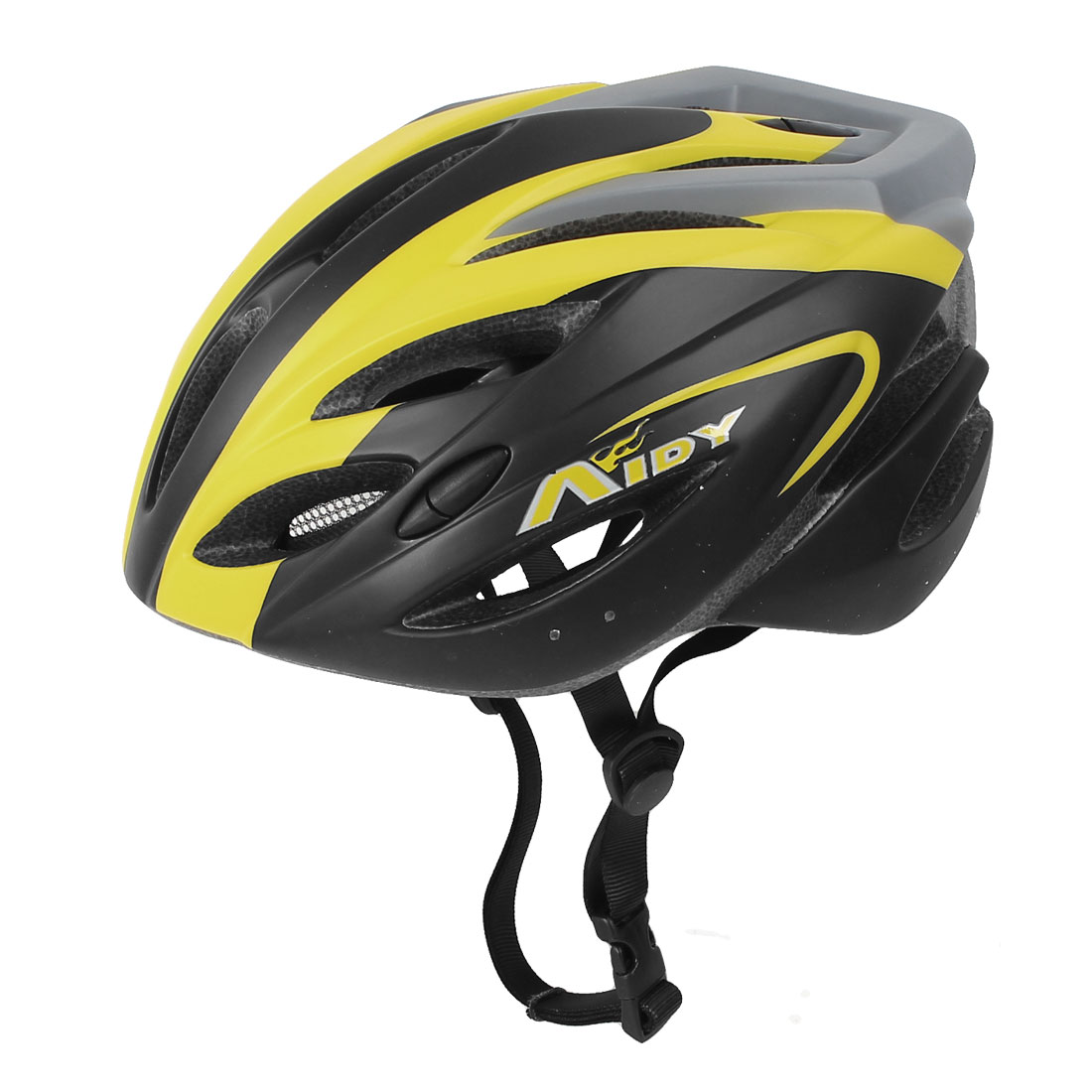 Black Yellow Outdoor Mountain Bike Cycling MTB Game Bicycle Helmet for Unisex