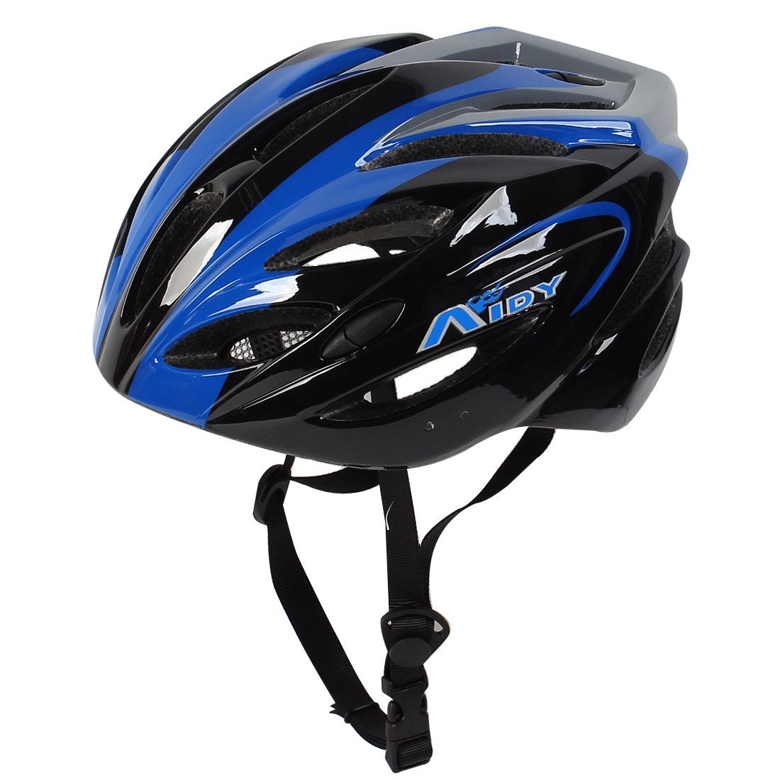 Women Men Protect Safety Bicycle Bike Sporter Skateboard Helmet Black Blue