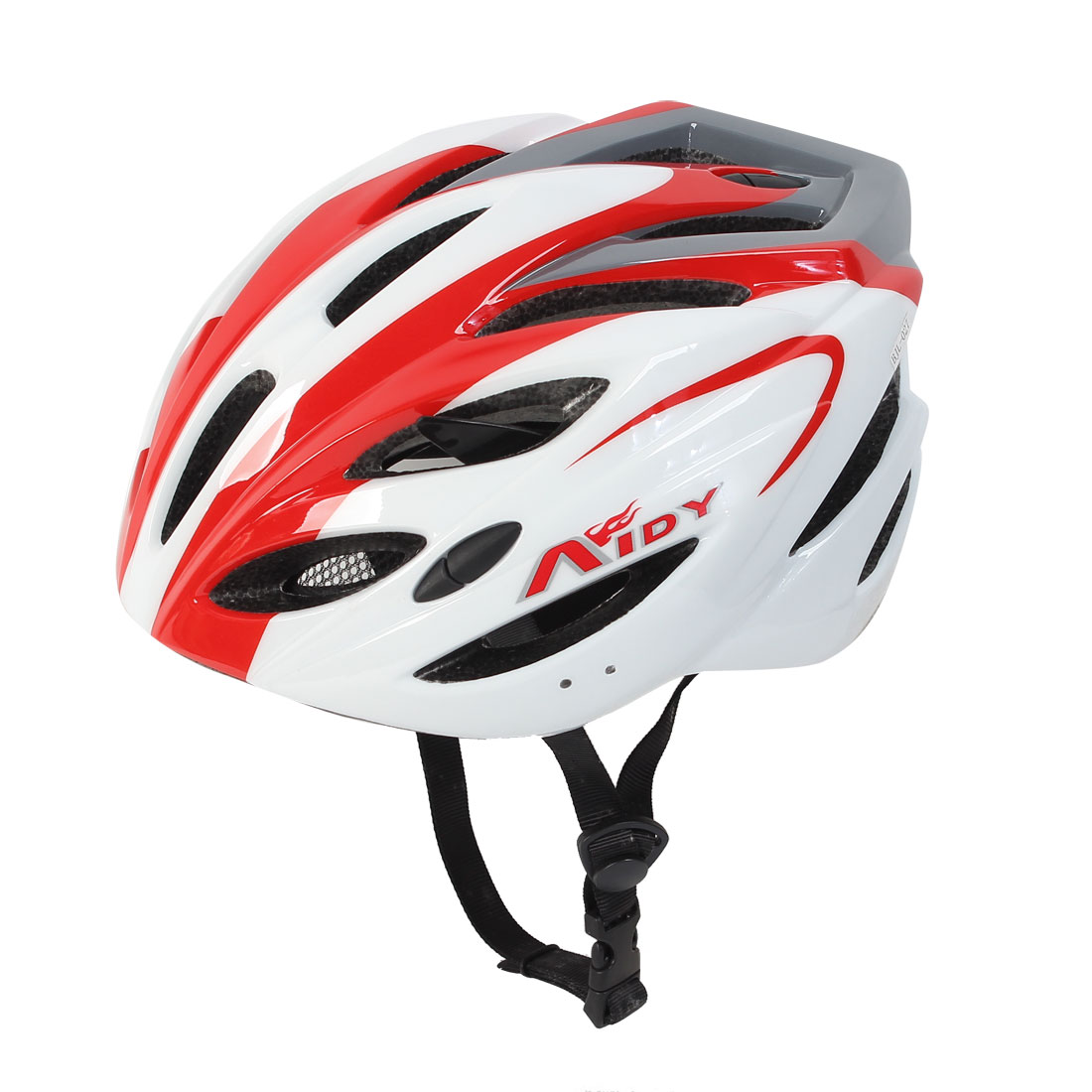 White Red Outdoor Mountain Bike Cycling MTB Game Bicycle Helmet for Unisex