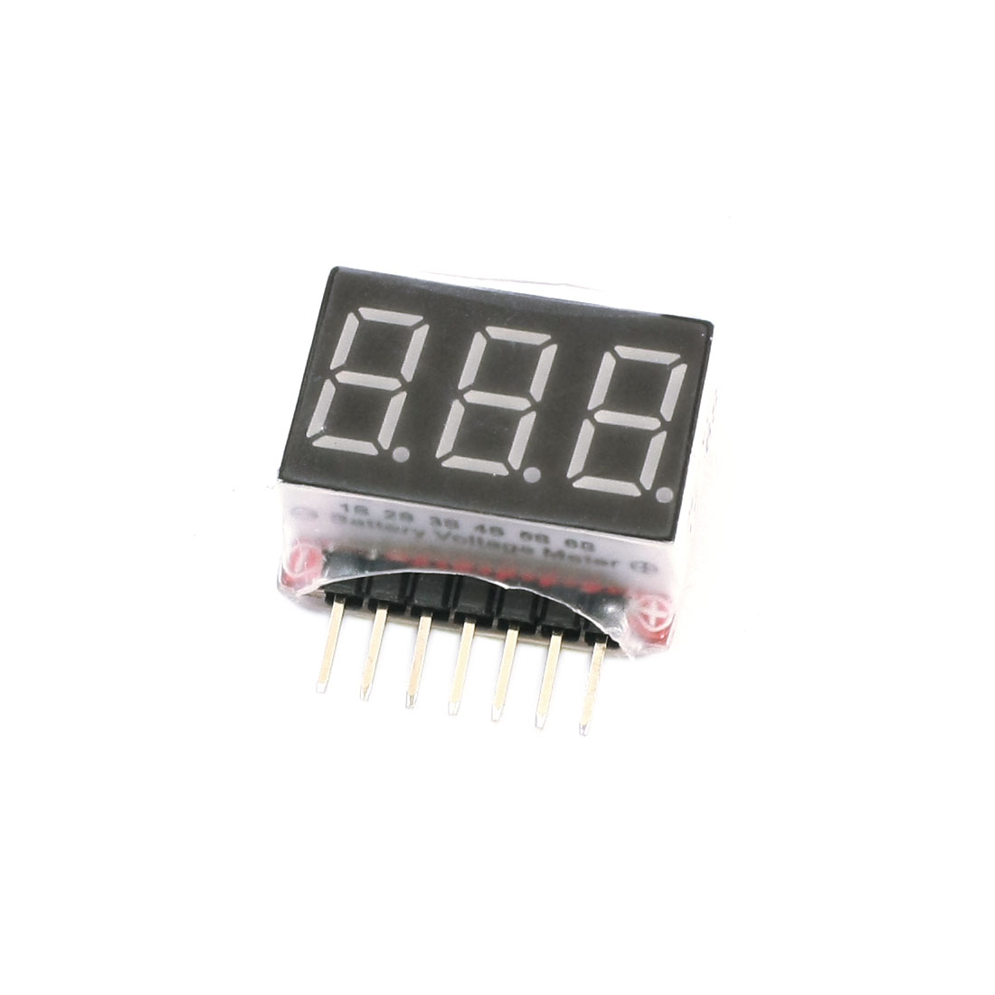 1S-6S High Precision Lithium Battery Volt Detection Monitor 2.8V-25.2V