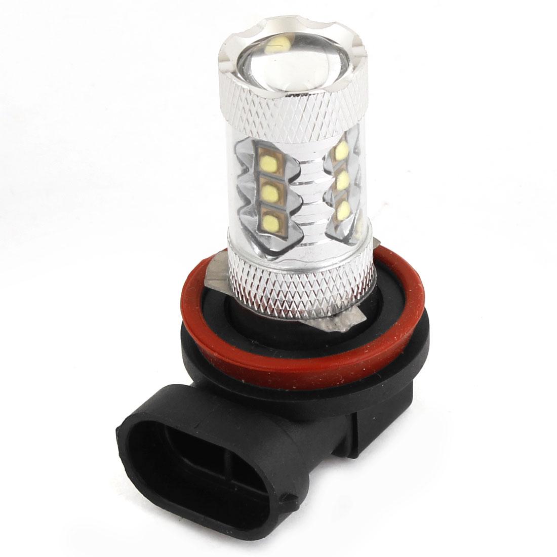 80W H8 16 LED Fog Light 12V Car DRL Light Lamp Driving Bulb White