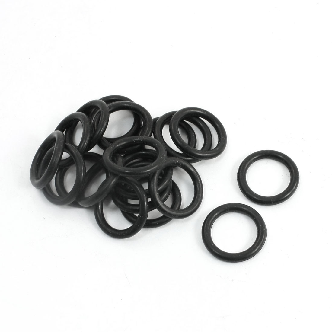 20 Pcs Replacement Flexible Rubber Oil Seal Filter O Rings 18.5x2.65mm