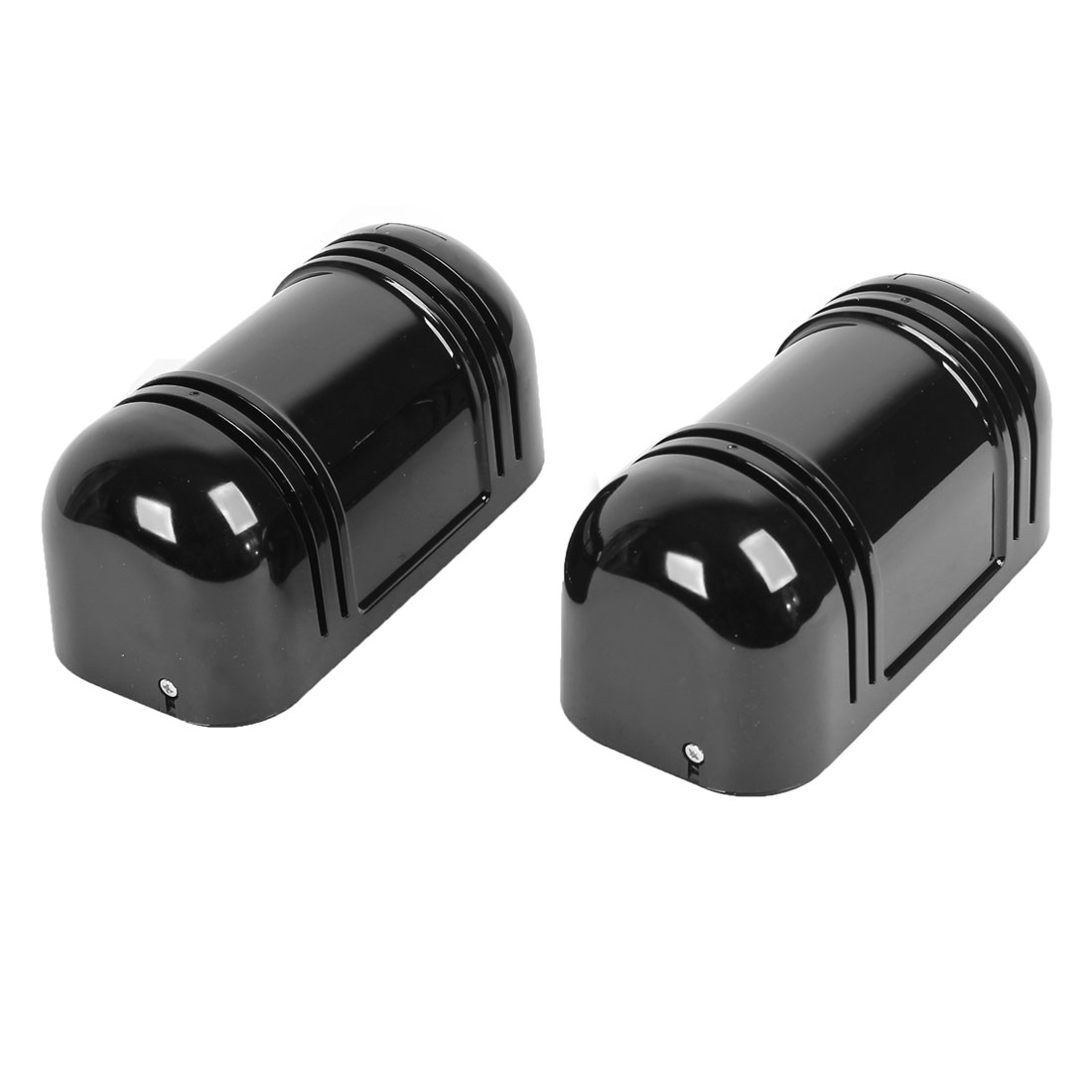 Office Outdoor 60m Black 2 Beams Active Infrared Detector Pair