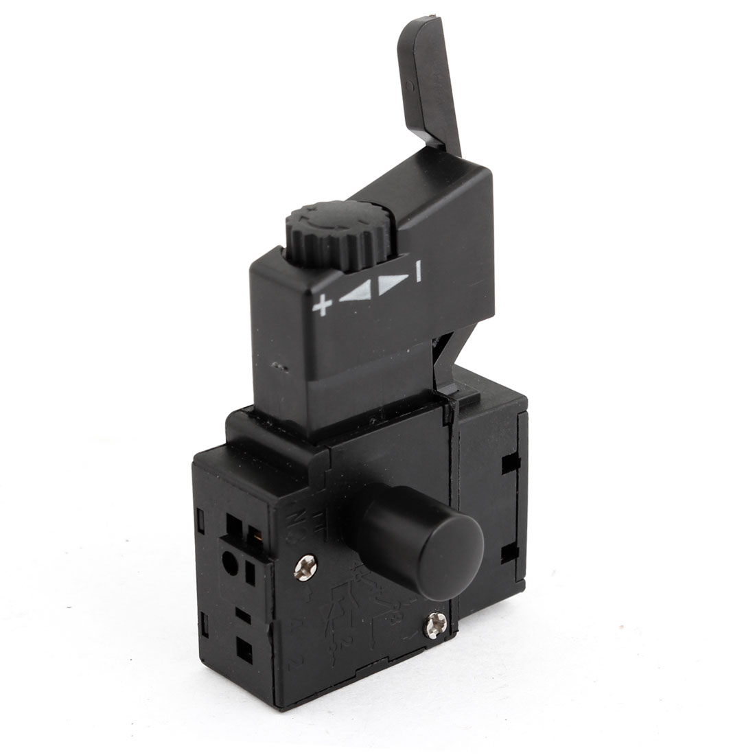 FA2-6/1BEK DPST Lock on Power Tool Trigger Button Switch Black