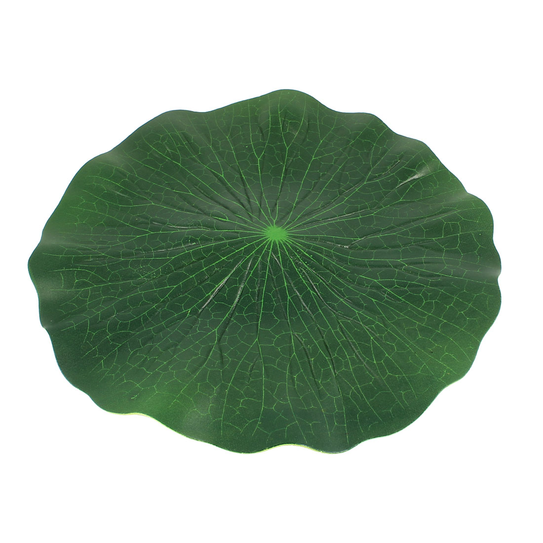 Aquarium Fish Tank Floating Decoration Green Foam Lotus Leaf Water Plant Grass