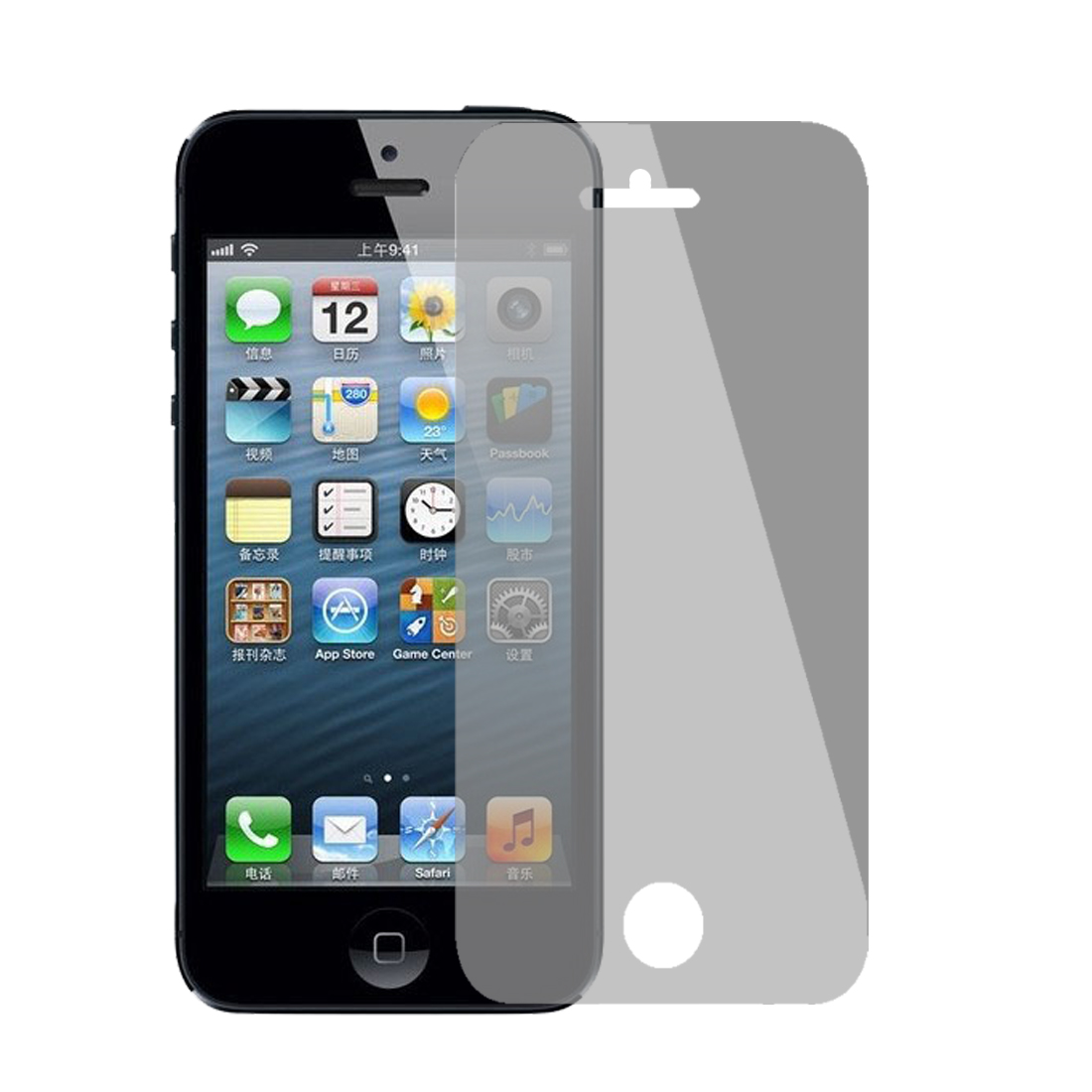 Crowded Area Privacy LCD Screen Protector Film Guard for iPhone 5S 5C 5 5GS 5G
