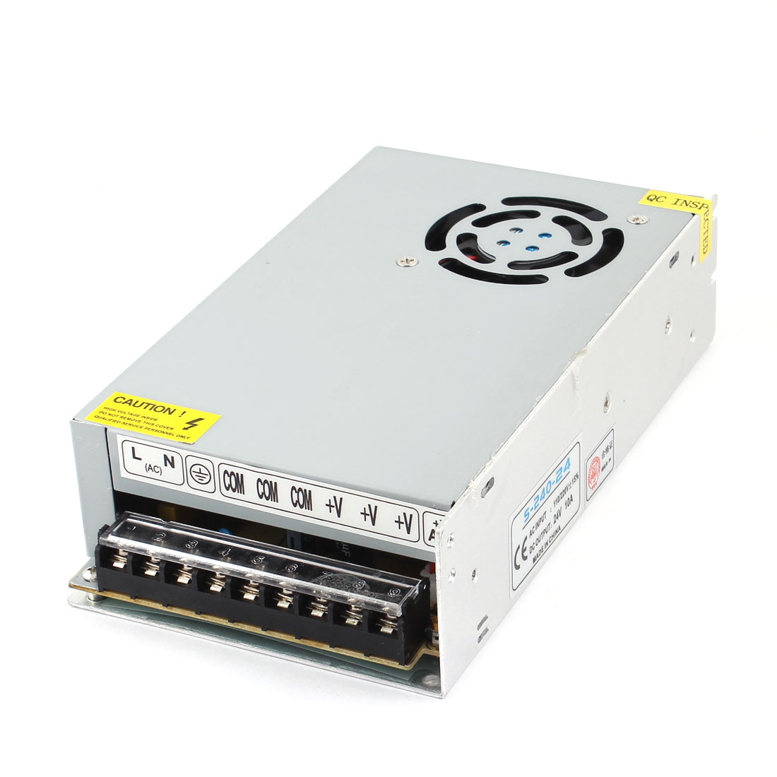 Circuit Protection Switching Power Supply DC 24V 10A 240W Output