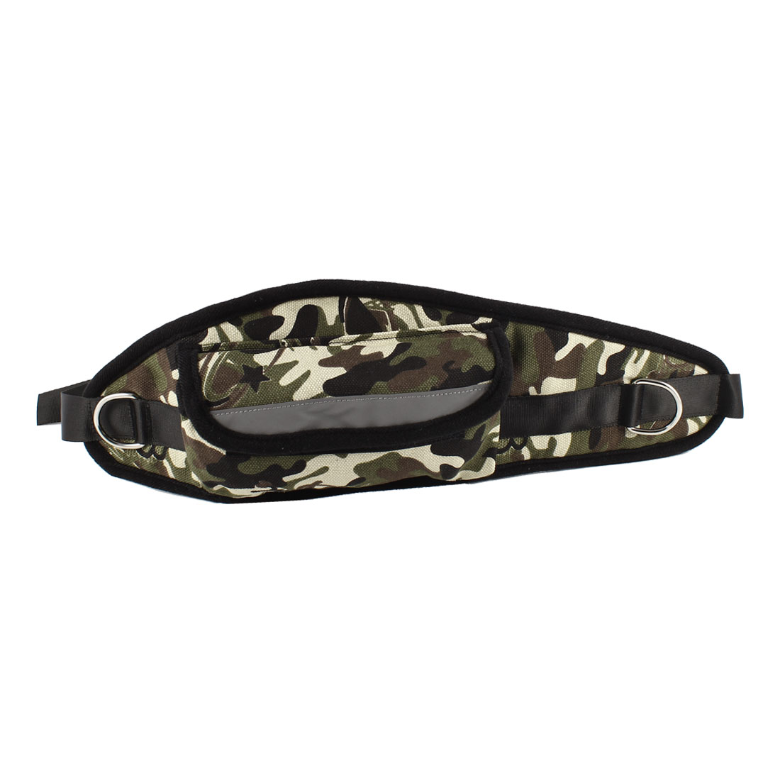 Camouflage Pattern Adjustable Release Buckle Pet Dog Leash Waist Pack