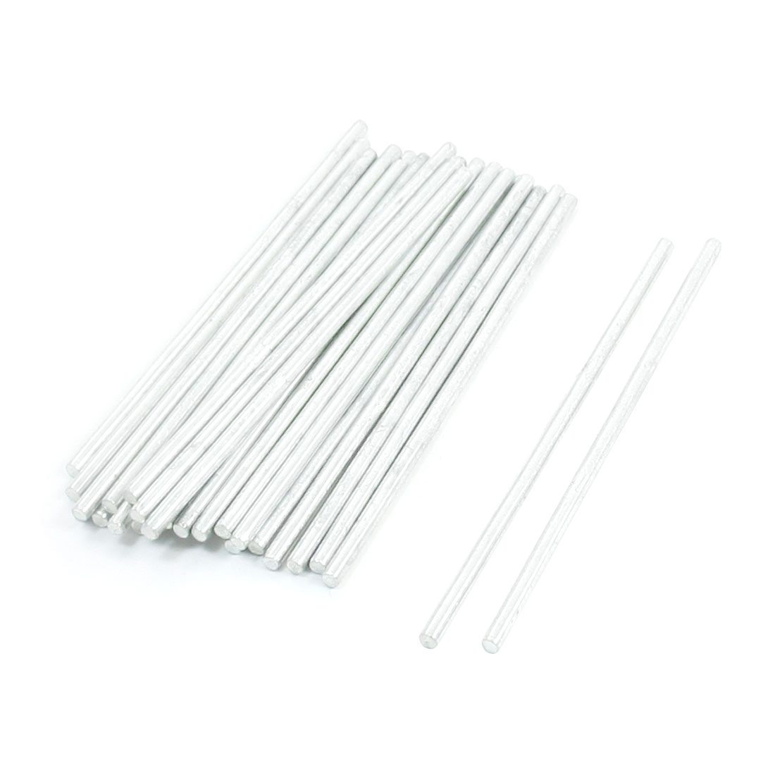 30 Pcs Stainless Steel Round Shaft Axles Rod 66mm x 2mm for RC Toy Car