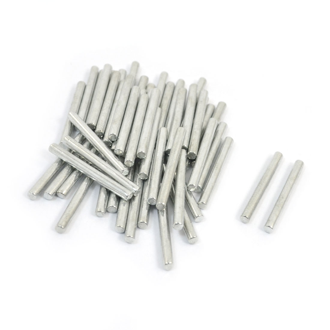 Replacement 2mm Dia 20mm Length Round Linkage Rod Bar 50Pcs for RC Car Model