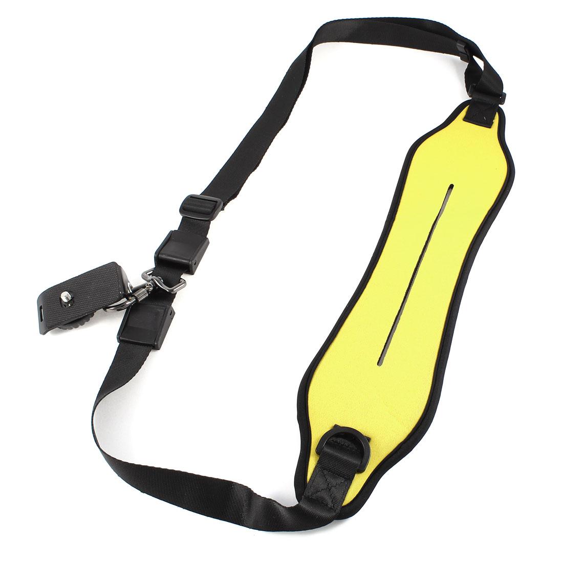 Yellow Neoprene Quick Rapid Single Shoulder Strap for DSLR SLR Camera