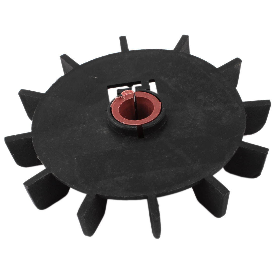 Replacement Black Plastic 13mm Inner Dia 12 Impeller Motor Fan Vane