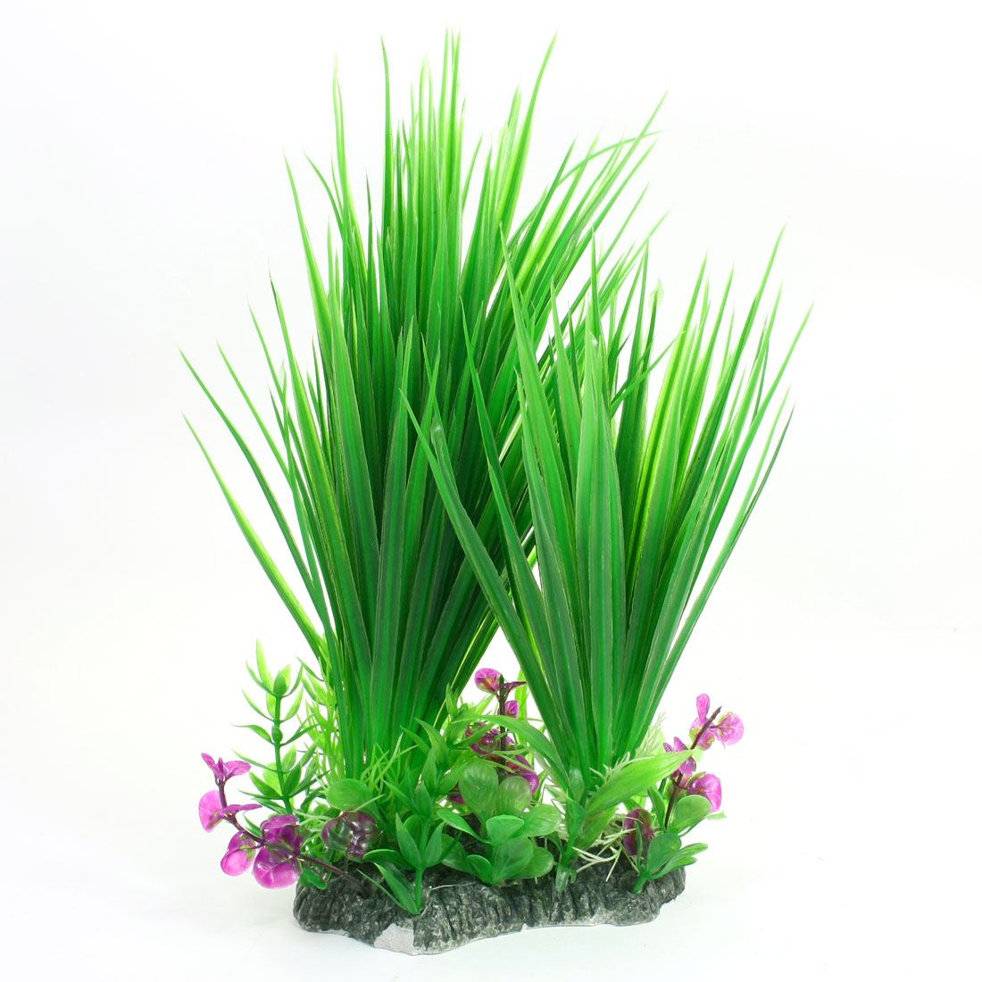 27cm Height Emulational Green Water Plant Grass Decoration for Fish Tank