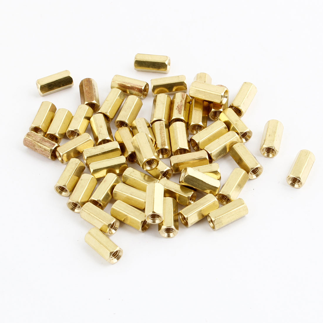50Pcs M3 Female Thread Hex Standoff Hexagonal Spacer