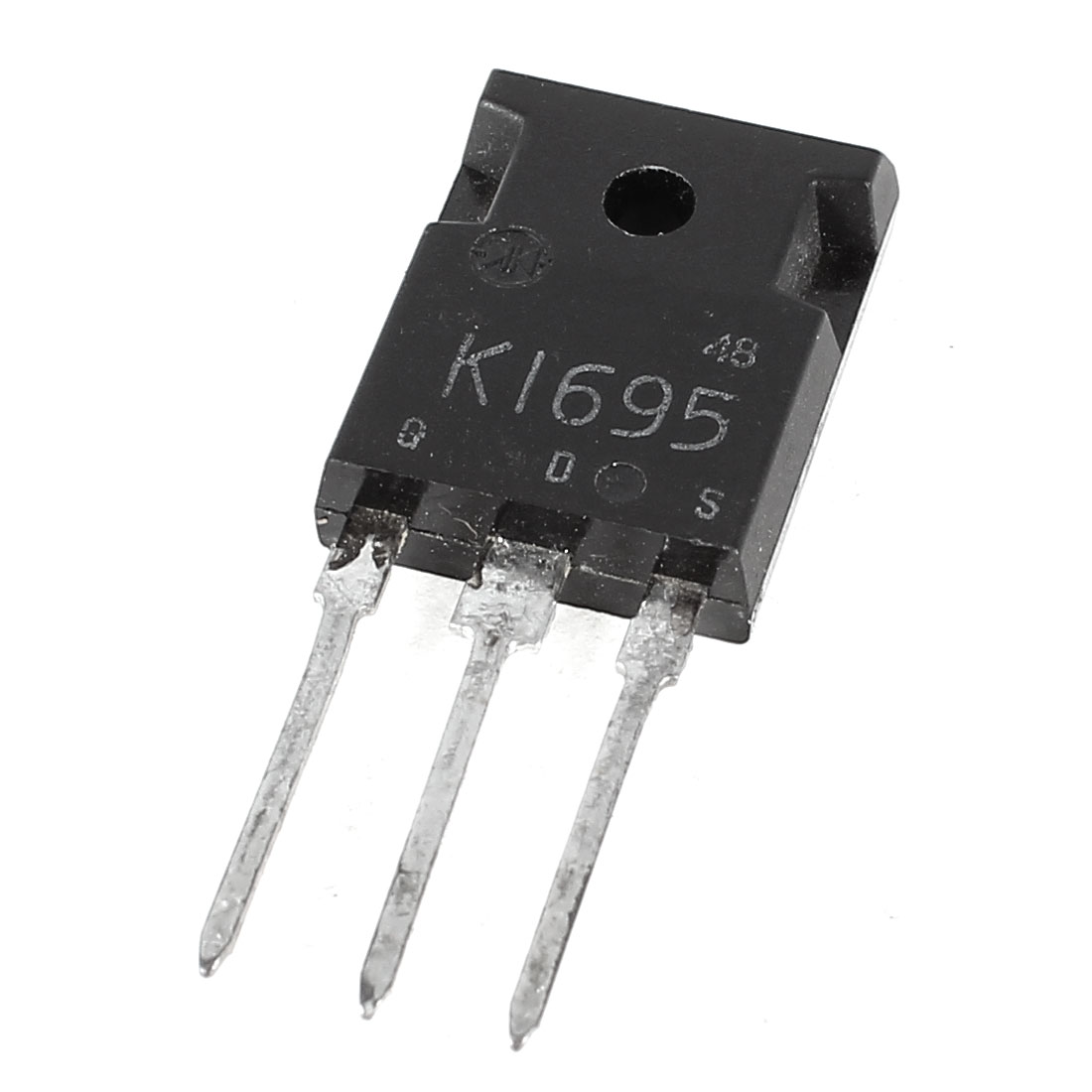 2SK1695 High Voltage Semiconductor 3 Pin NPN Power Transistor 10A 500V 80W