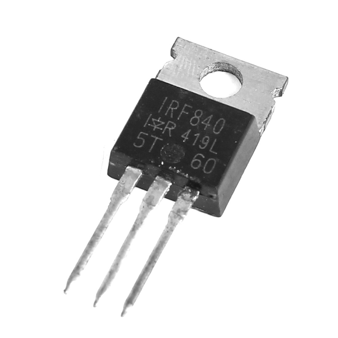 IRF840 8A 500V 3 Pin Terminals TO-220 Package Complementary Semiconductor NPN Silicon Transistor