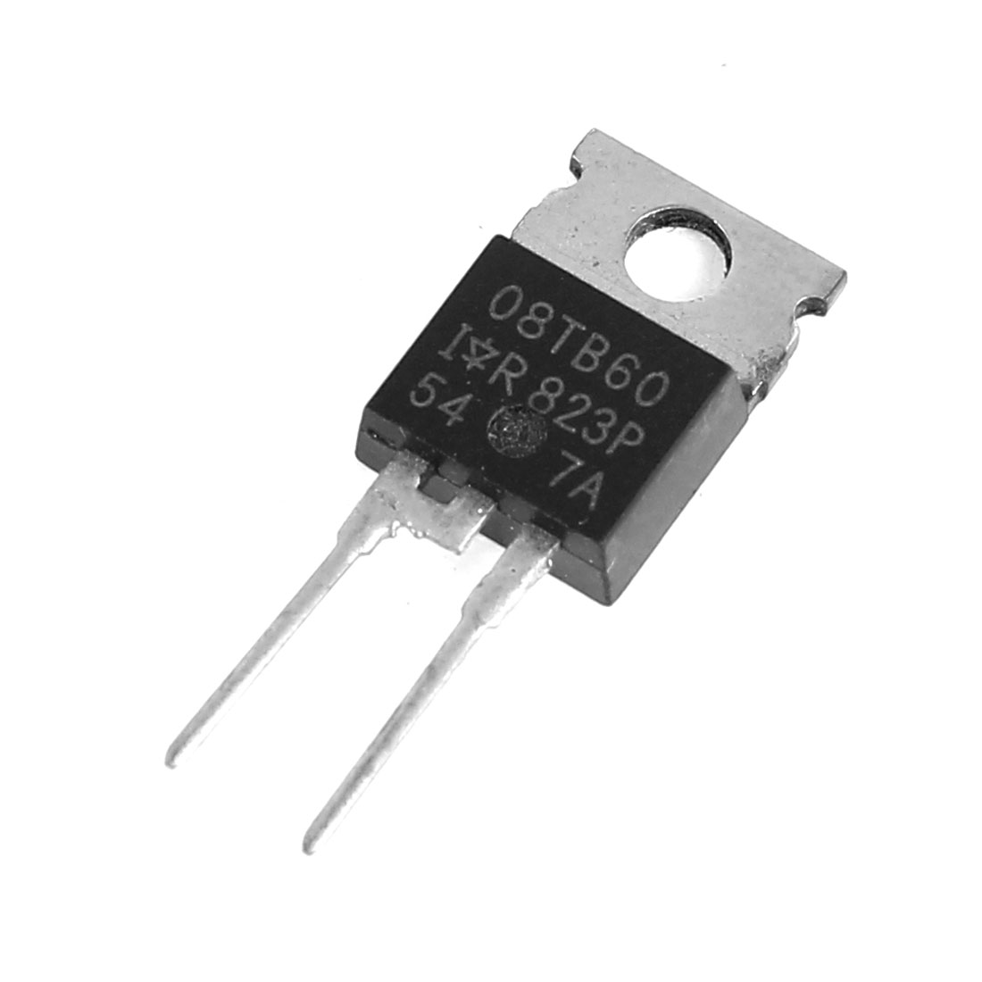 HFA08TB60 600V 5A 3 Pin Terminals TO-220AC Package Complementary Semiconductor NPN Silicon Transistor