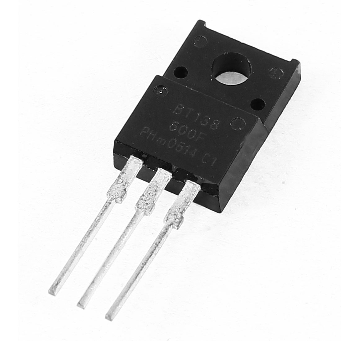 BT138-600F Fast Switching Speed Semiconductor NPN Power Transistor 600V