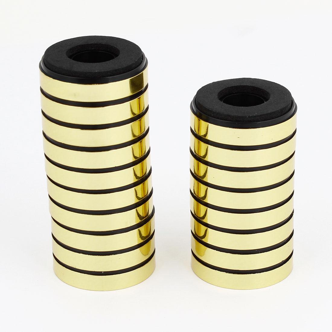 20PCS 4.5mm Mount Hole Speaker Ammeter Amplifier Feet Pad Stand 30mmx8.5mm