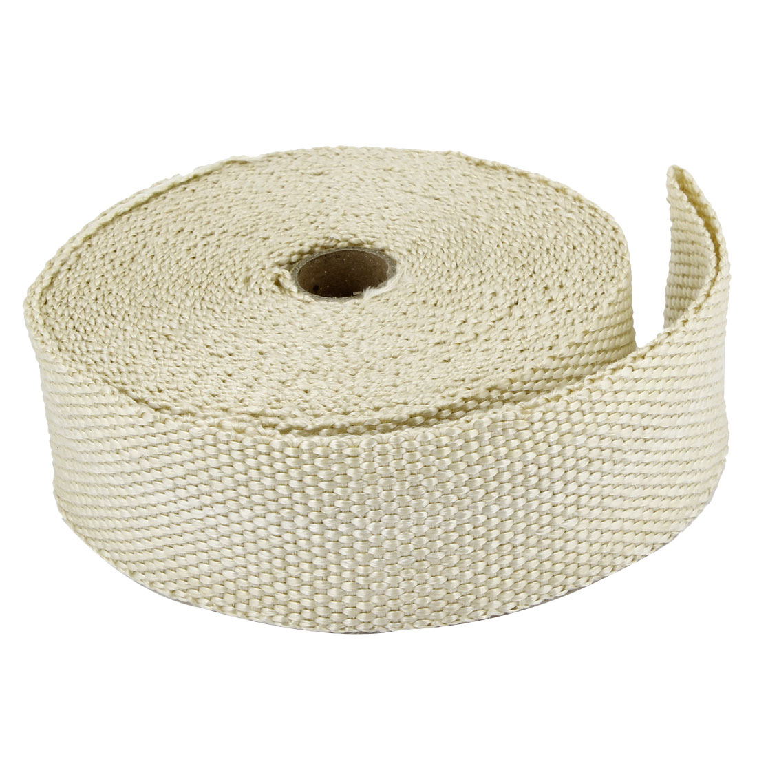 5cm Width 13M Length Fiber Exhaust Header Wrap Insulating Tape Kit Beige