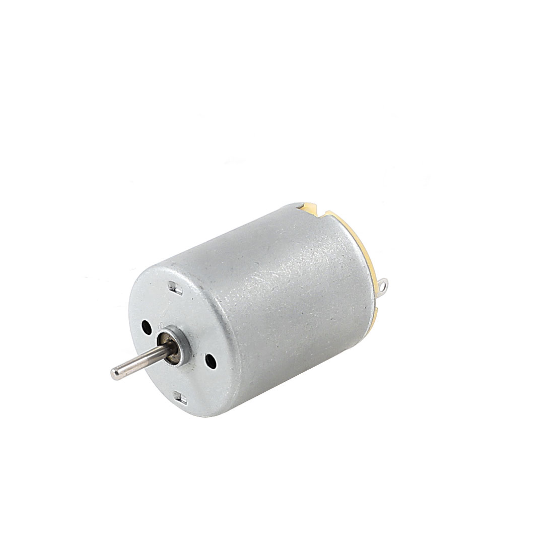 Silver Tone 13500-16800RPM 2mm Shaft High Torque Mini Micro Motor DC 7.2-9V
