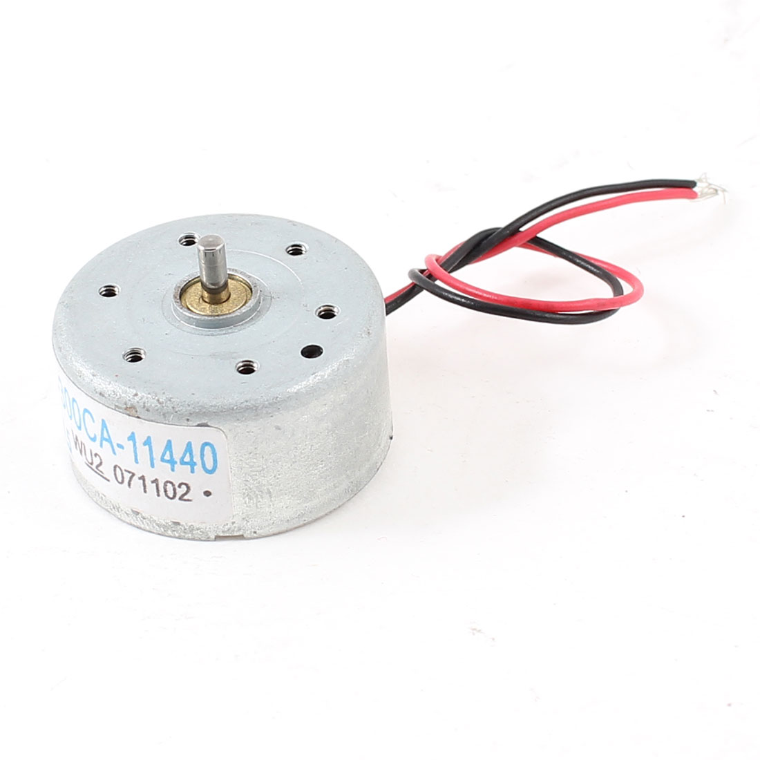 Silver Tone Two Wired 1860-7570RPM 2mm Shaft High Torque Motor DC 1.5-6V for Solar Power