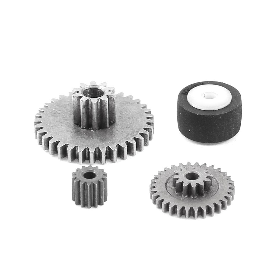 4 in 1 33 30 14 Teeth 0.5 Modulus Metal Reduce Motor Gear Set