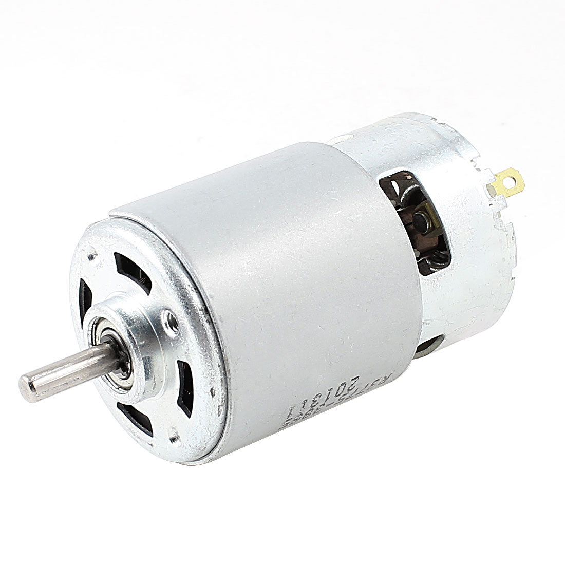 DC 24V 0.31A 7000RPM High Speed 2 Terminal Ball Bearing Electric Magnetic Motor
