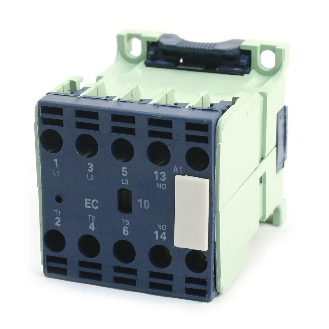 110V Coil Motor Controler Miniature AC Contactor 3 Pole 1NO CJX2-1210E