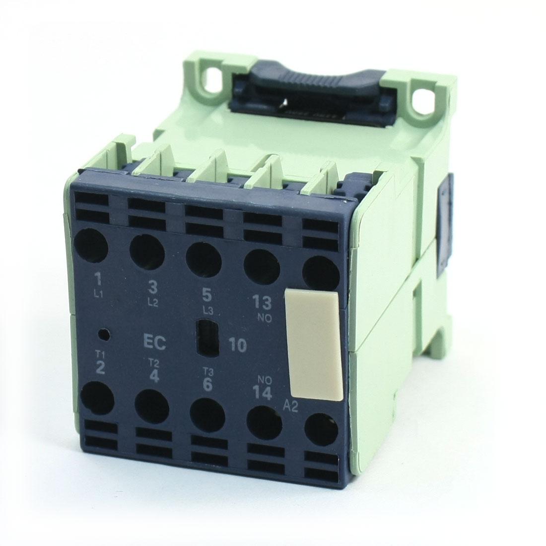 Motor Control AC Contactor 12A 3 Pole 1NO 380-415/440-480V Coil CJX2-1210E