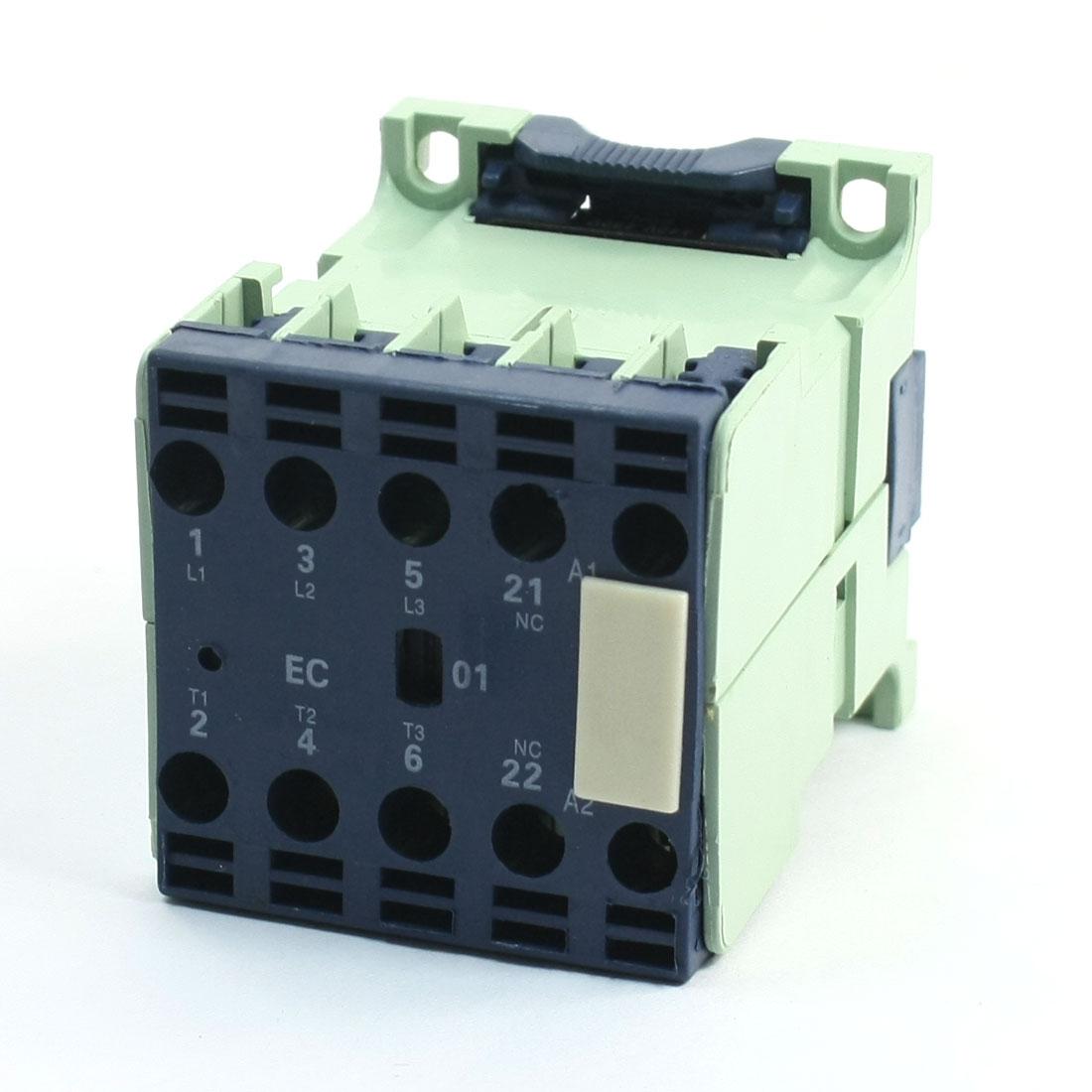 CJX2-1201E AC Contactor 12A 3 Phase NC 380-415/440-480V 50/60Hz Coil