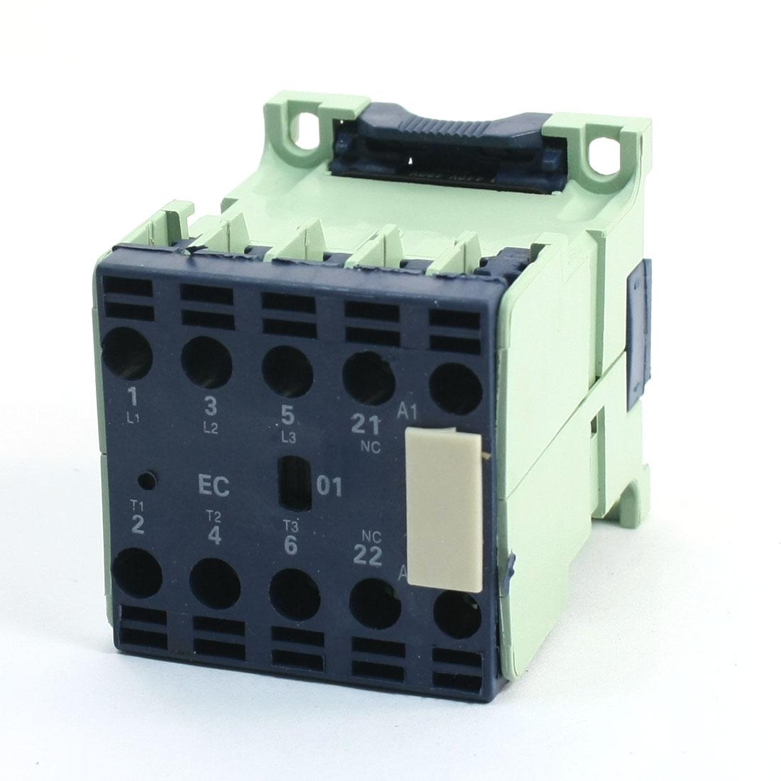 CJX2-0901E 3 Pole 1NC Motor Control AC Contactor Coil Voltage 380-415V