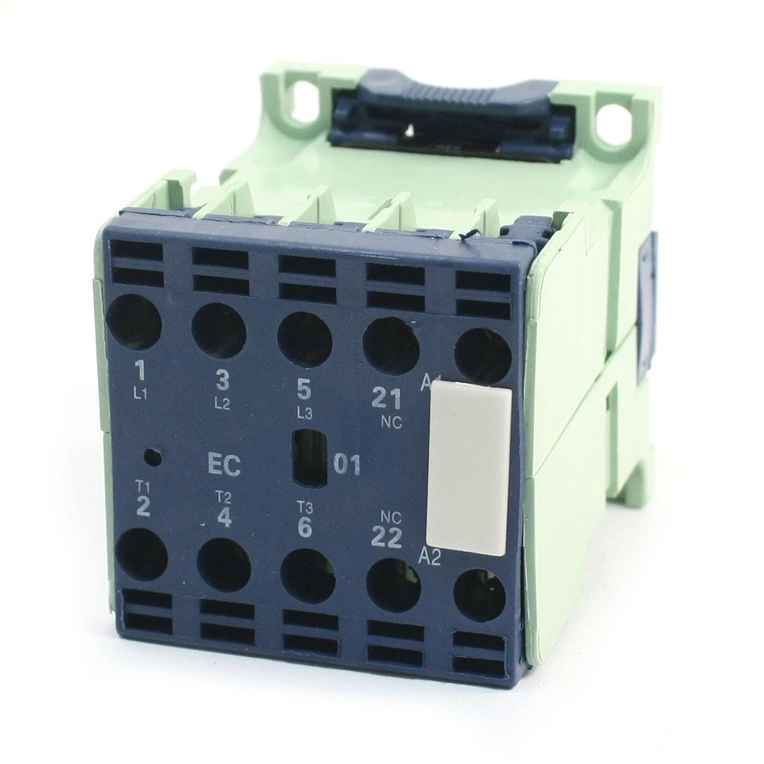 9A 24V 50/60Hz Coil 3 Phase 1NC Motor Controller AC Contactor CJX2-0901E