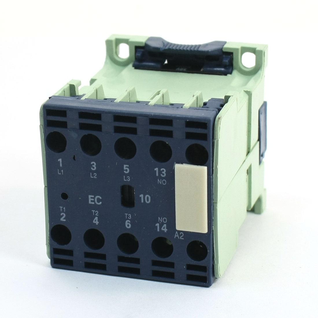 660V 9A 3 Phase 3P 1NO AC Contactor DIN Rail Mount 36V Coil CJX2-0910E
